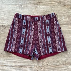 Hollister Pattern Shorts size 1